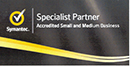 Symantec accredited small and medium business specialist partner